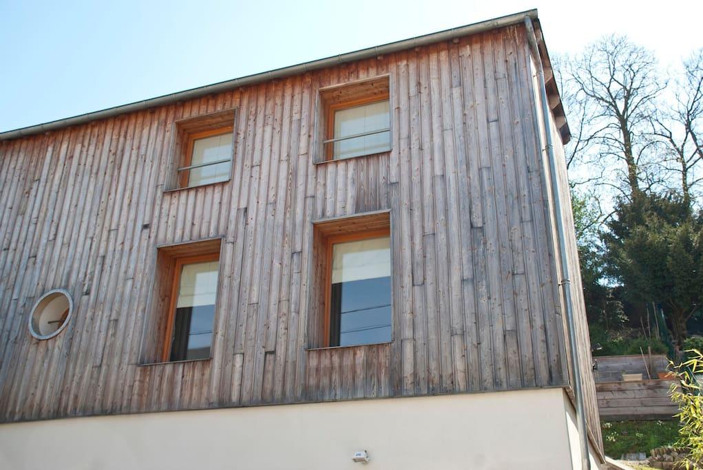 Maison façade appartement