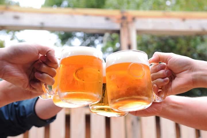 生ビール7ℓ無料!リノベハウス。 カラオケ21万曲!