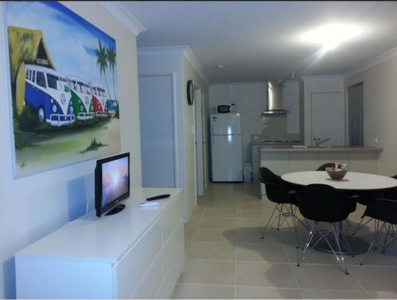Dining and Kitchen  with free NBN wifi