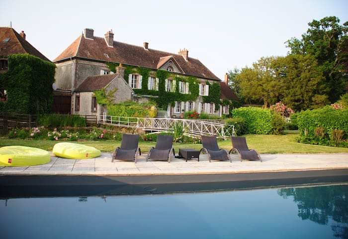 """1 chambre d'hôtes """"Désiré"""" à la Grand'Maison - Meaucé - Dům"""