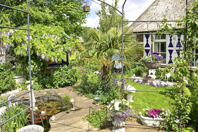 Ons eigen huisje met tuin.