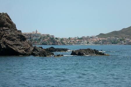 Villa T4 bord de mer avec piscine - Calabardina