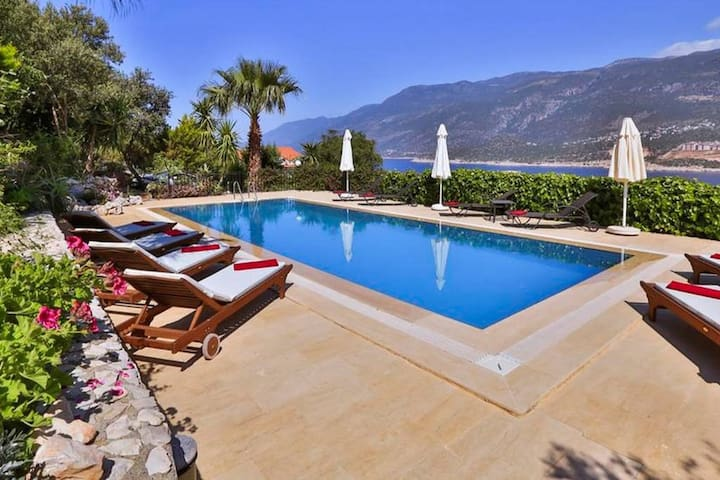 Villa Cerise on Peninsular of Kas - Kaş