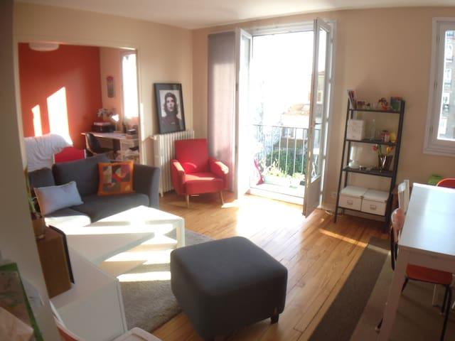 Appartement lumineux et au calme à Montrouge - Montrouge - Leilighet
