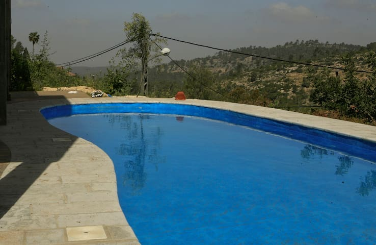 Special offer:rent house-get free cabin. 6per.pool - kesalon - House
