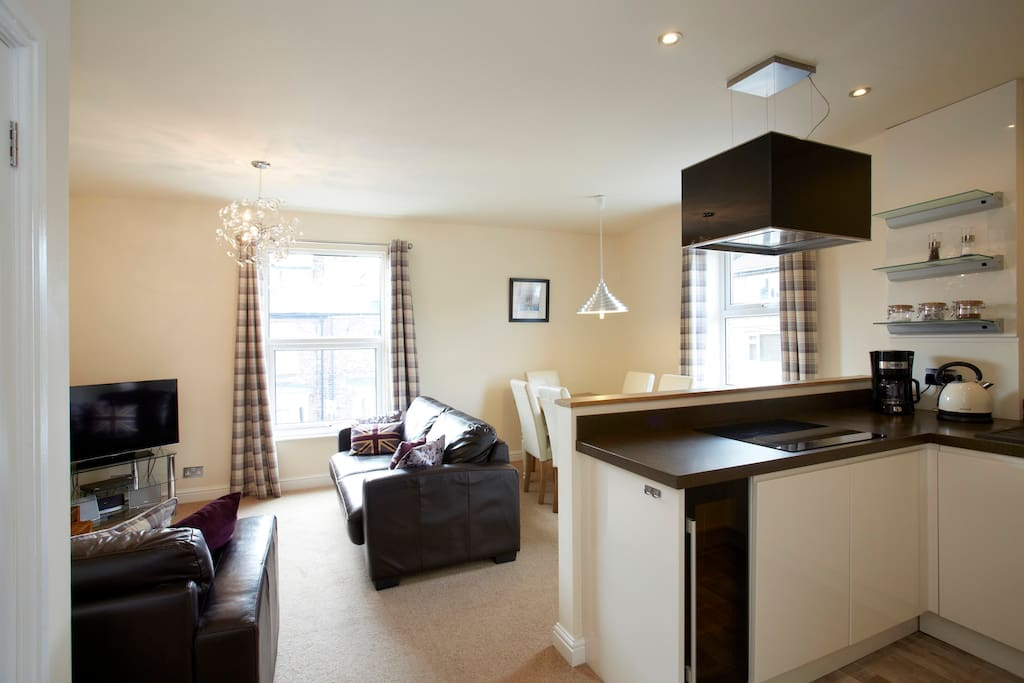 Exclusive use of our two storey apartment.