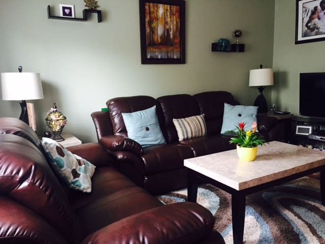 First floor living room (recliners)