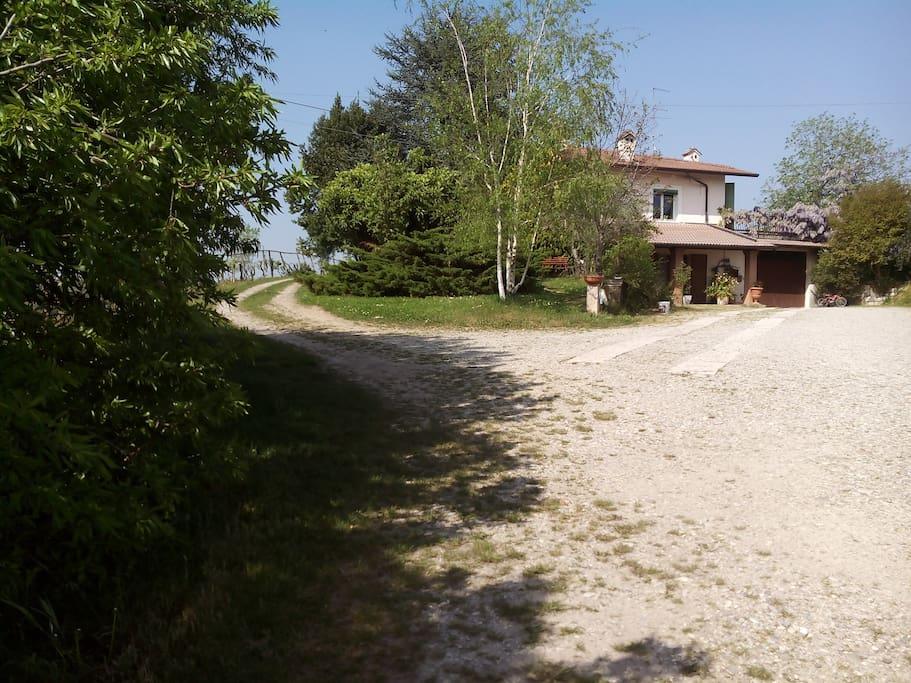 La villa del moro case in affitto a valeggio sul mincio for Case arredate in affitto a valeggio sul mincio