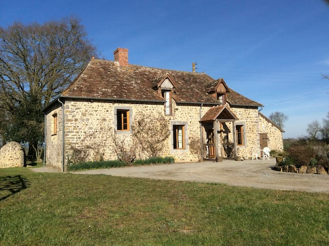 Cottage in peaceful rural location - Thorigné-en-Charnie - Hus