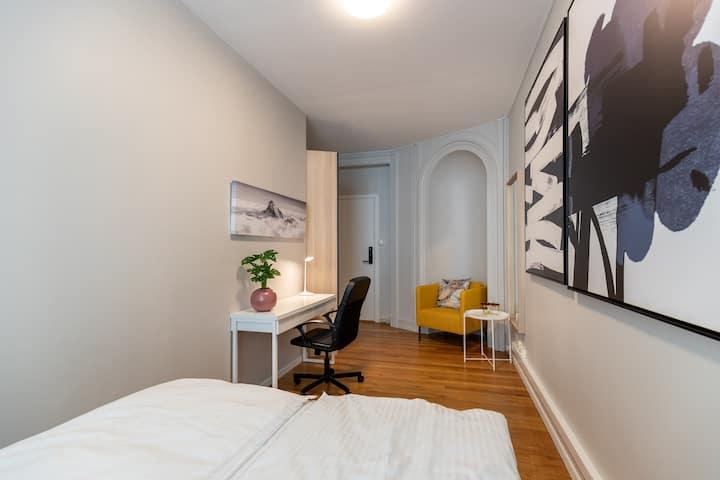 Fosse room in the Heart of Oslo! 3 min from castle