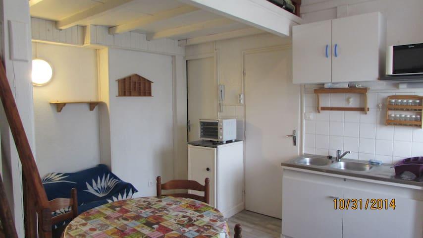Logt F2-Verdun centre-Calme & Sympa - Verdun - Apartment