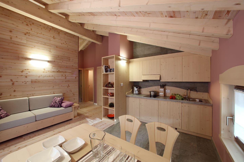 Appartamento Autunno: moderna casa in un borgo antico