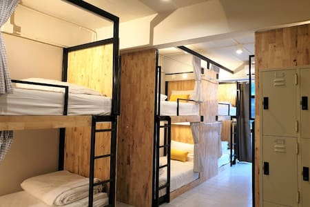 Bunk Bed and Locker