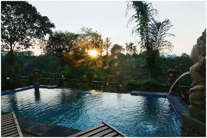 Ubud River View Cottages (free pick up Ubud area )