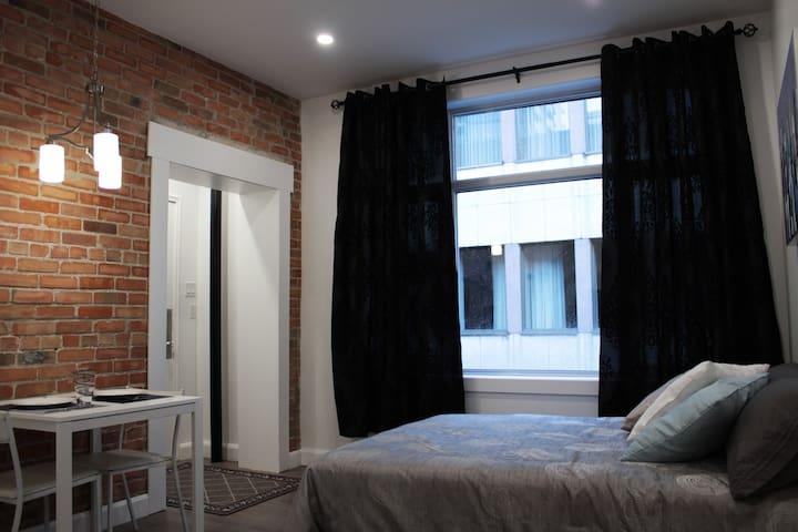 Beau loft entièrement rénové et propre