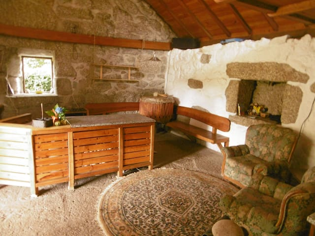 Rustic stone house in countryside - Vieira do Minho