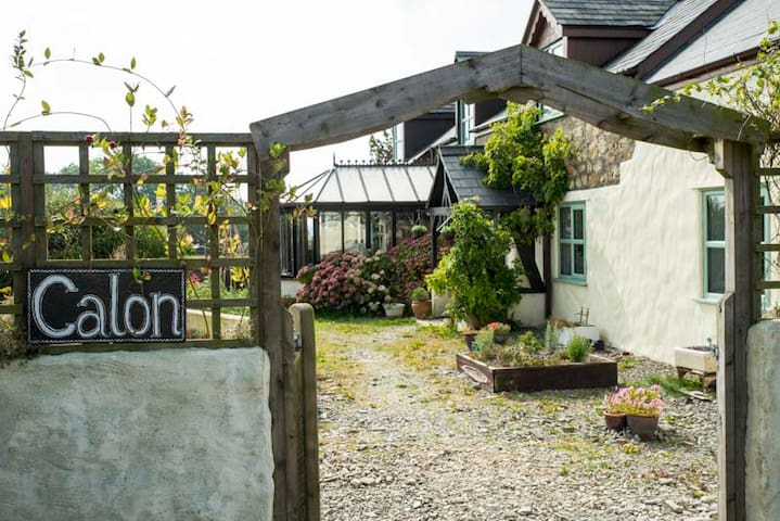 Calon Eco B&B, Newcastle Emlyn - Henllan - Bed & Breakfast