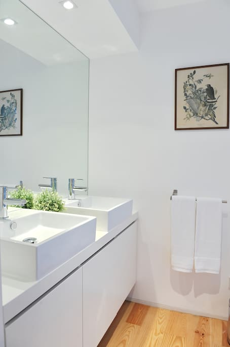 Casa de Banho Quarto Azul