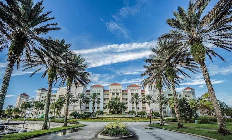 Hammock Beach Golf Resort and Spa - 2 BR 265 Intracoastal View Condo in the Yacht Harbor
