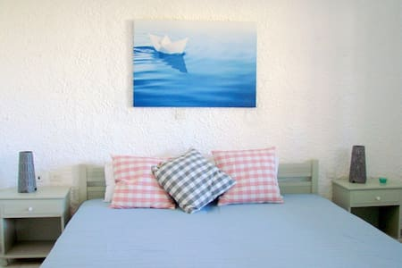 2bed studio 150 m from the beach. - Γαλησσάς - Lejlighed