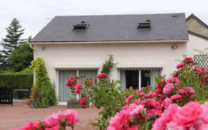 Gîte moderne 3 chambres avec jardin