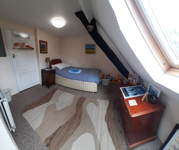 Peaceful accomo overlooks St Peter's - single room