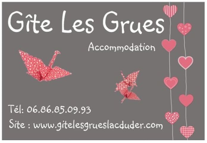 Gîte Les Grues Lac du Der - Éclaron-Braucourt-Sainte-Livière - Ev