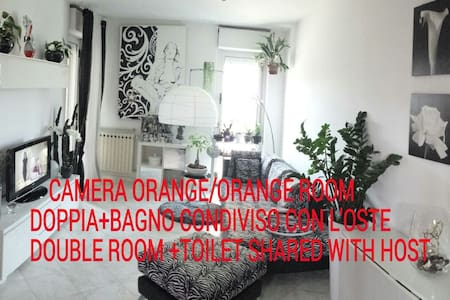 Rent Room La Deborona,Easy&Chick ORANGE ROOM - Rosignano Solvay-Castiglioncello