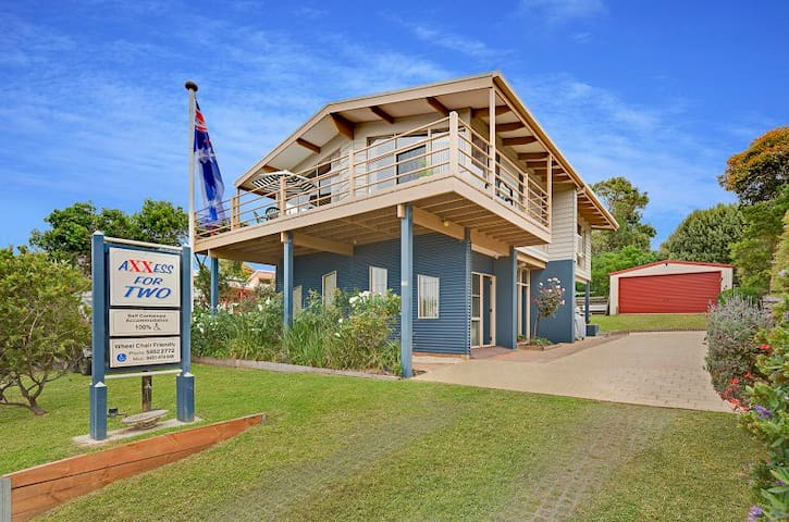 AXXESS FOR TWO. - 100% Wheelchair friendly. - Smiths Beach