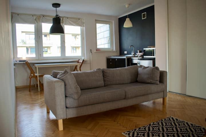 Riverside spacious and bright loft style studio