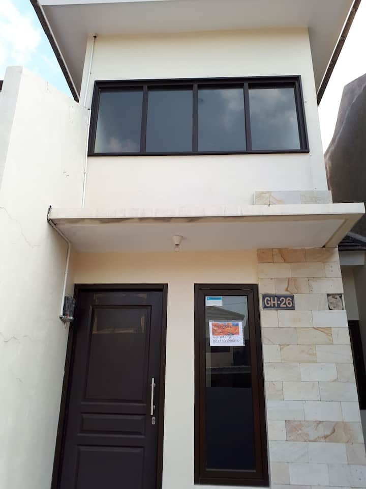 A house for rent with view in Semarang, Indonesia