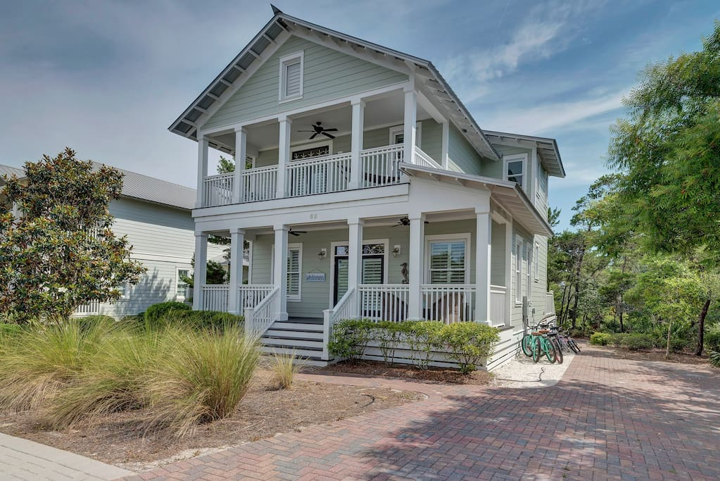Welcome to Four C's Retreat at 69 Barton's Way in The Preserve at Grayton Beach!