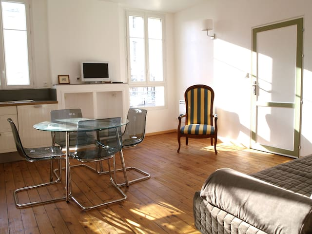 Apartment Libourne city center, terrace&labeled***