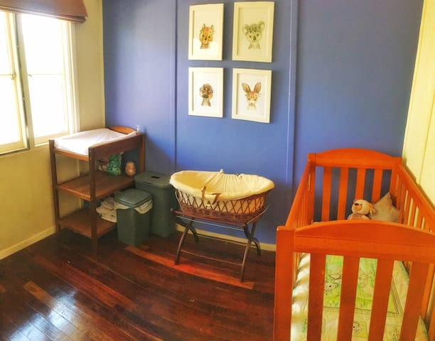 Bed 2- Nursery - Contact owners for a full list of baby supplies provided