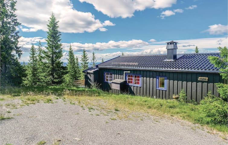 Holiday cottage with 3 bedrooms on 75 m² in Sjusjøen