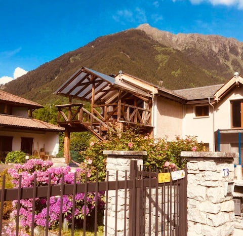 Very bright beautiful house between Tirano-Bormio