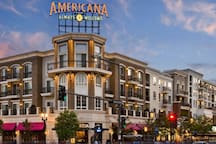 The Americana in Glendale is only 10 minutes away.
