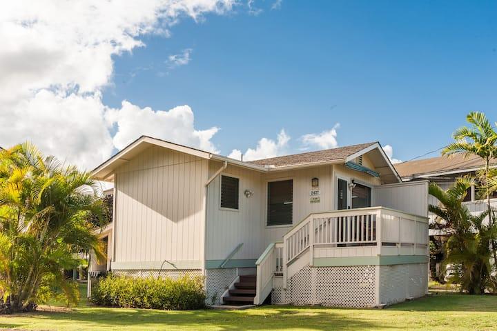 Hawaii Life Rentals presents Malu Kauai Cottage 1 Mile from Kalapaki Beach - Malu Kauai, a Beautiful Kauai Cottage 1 Mile from Kalapaki Beach