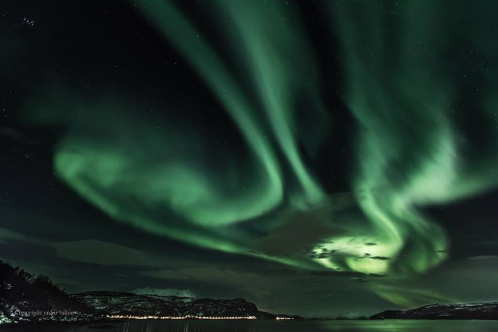 If you're lucky, you'll get to see the amazing northern lights!