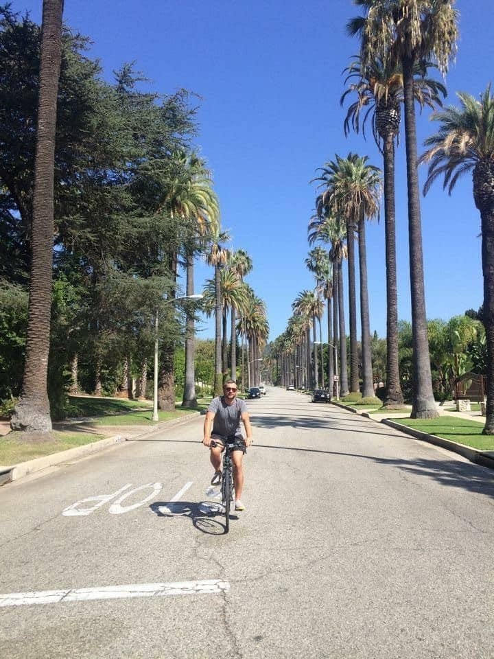 See plenty of palm tree-lined streets