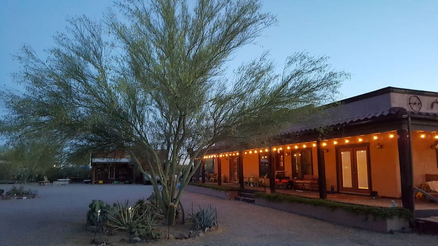 Hacienda in The Desert