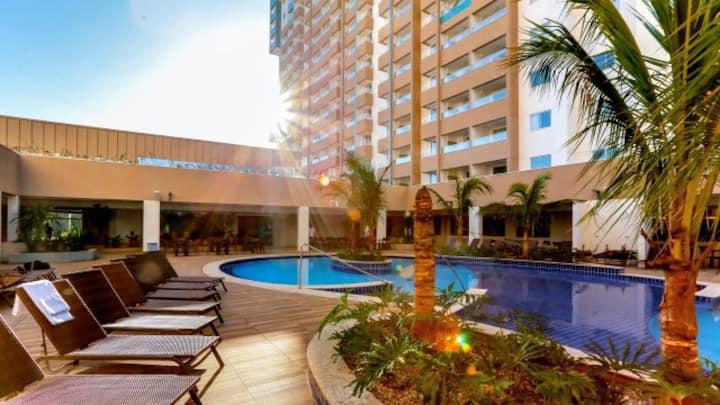 """""""O Resort está perto do P. Aquático T/ Laranjais"""""""