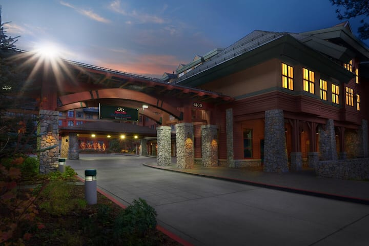 Heavenly STUDIO Lake Tahoe Timber Lodge Marriott