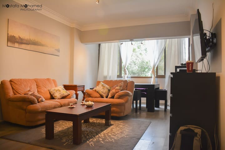 Cozy modern apartment in the heart of Maadi, Cairo