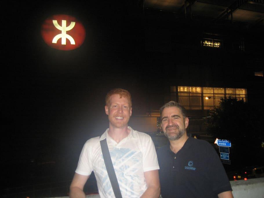 Your hosts Wade & Peter