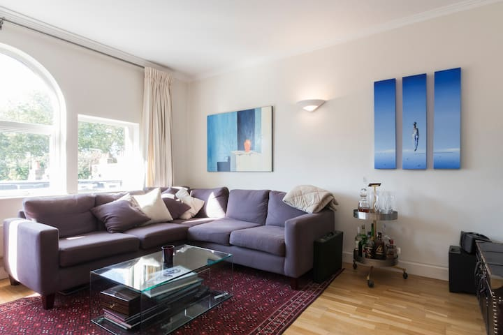 2 Bed Fulham flat with roof terrace-2 mins to tube - Londen - Appartement