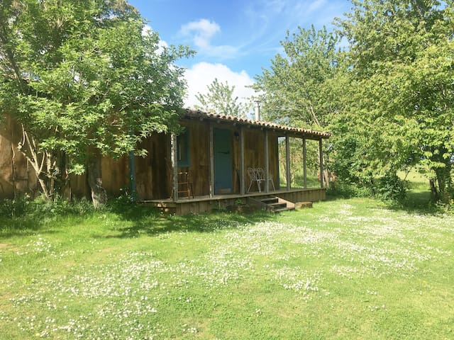 The Duck Shed, a retreat to explore from.