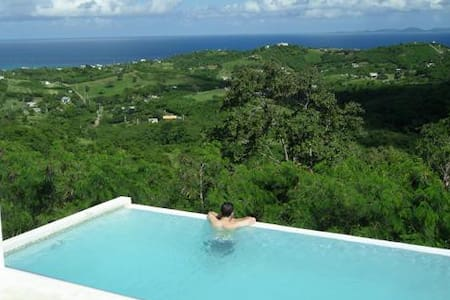 Perfectly romantic: views/prvt pool - Monte Carmelo - วิลล่า