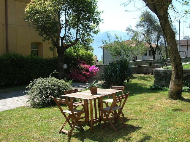 Casa Luna - Apartment with garden - Santa Maria Rezzonico - Appartamento