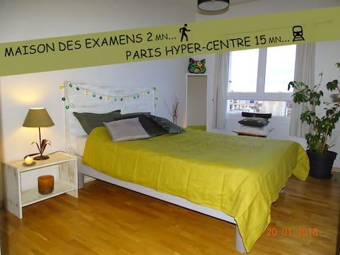 Chambre Arcueil - Maisons des Examens - Paris